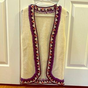 Vintage Handmade Knit Vest